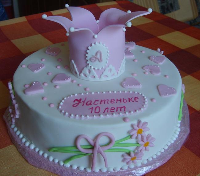 Фотографии тортов на день рождения для девочки на 10 лет